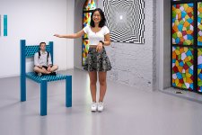 Things Get Weird at the New Museum Of Illusions