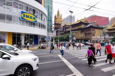 Meatballs and Modern Furniture: IKEA Opens 3,000sqm Dream Location Across from Jing'an Temple