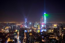 Here is What's Up with the Bund Light Show Over the Holiday